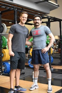 Amir Orangi training