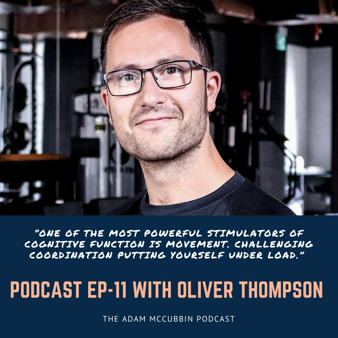 Oliver Thompson podcast Adam McCubbin