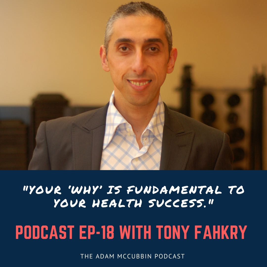 Tony Find your why