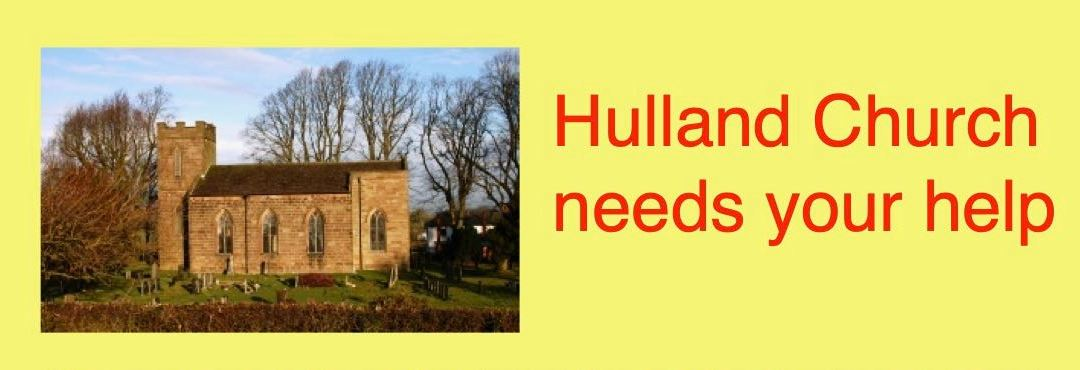 Hulland Church needs your help