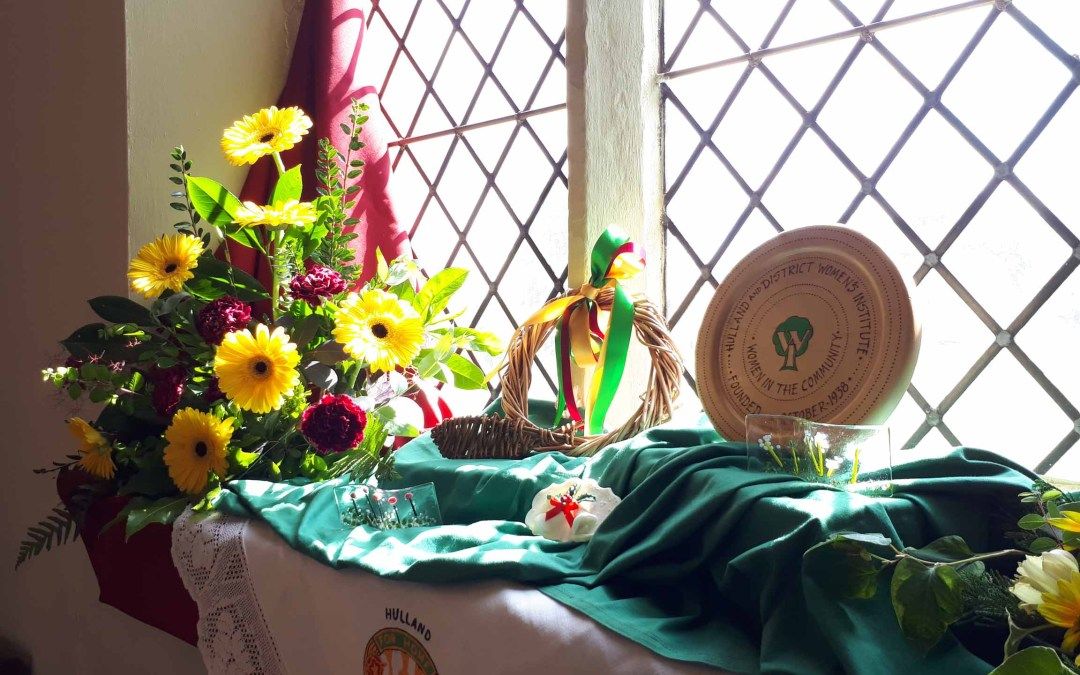 Hulland Flower Festival – if you missed it….