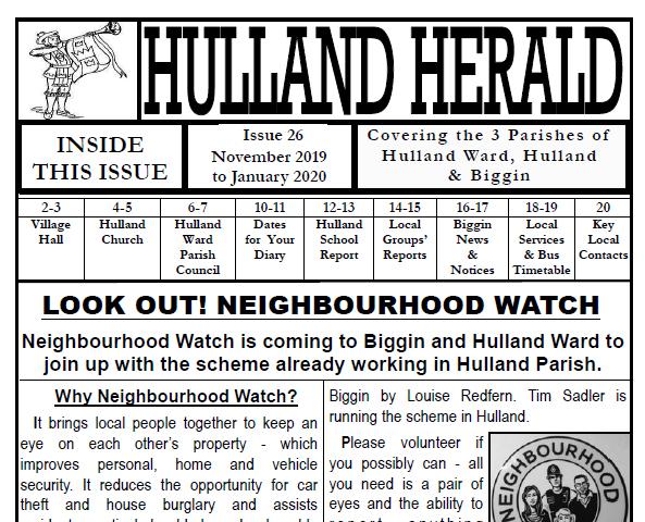 Hulland Herald – latest edition