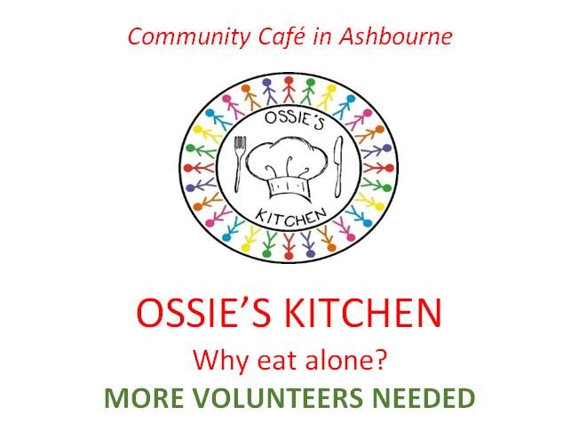 Volunteers needed at Ossie's Kitchen (Ashbourne)