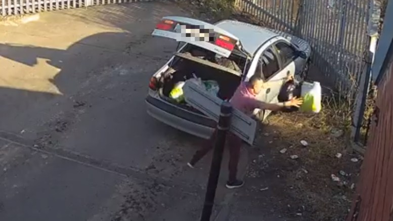 Hull City Council is calling on the public to help identify a man they wish to speak with in regards to a fly-tipping incident that was caught on camera.