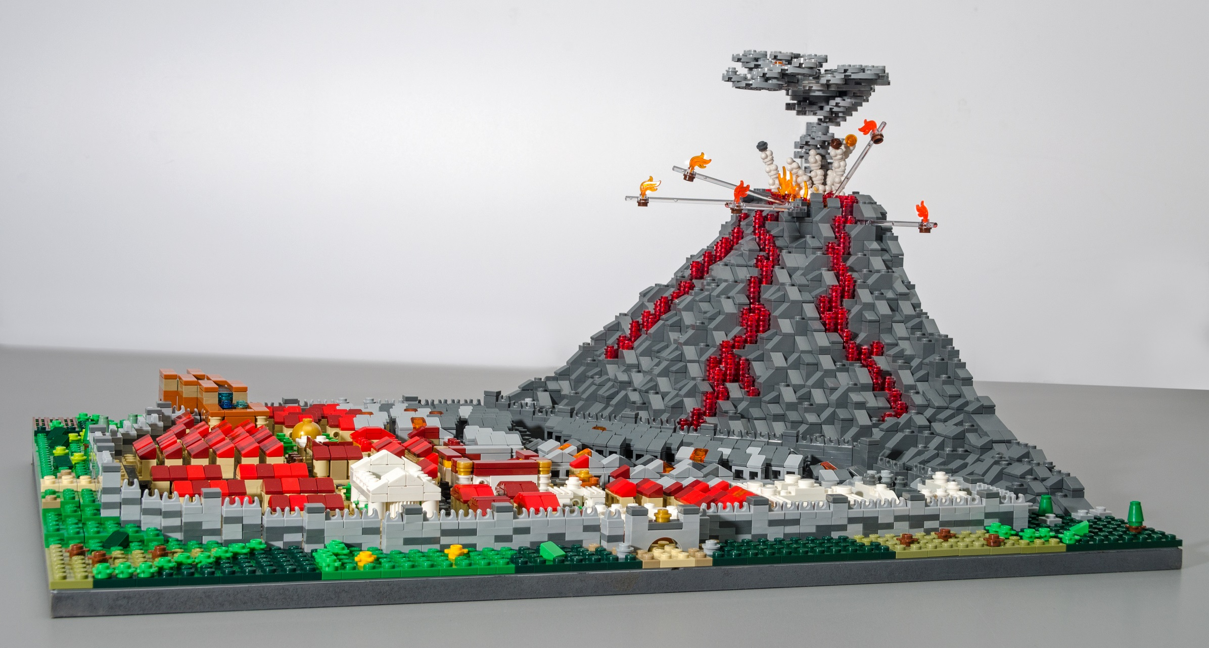 Brick History in Lego at Hull History Centre