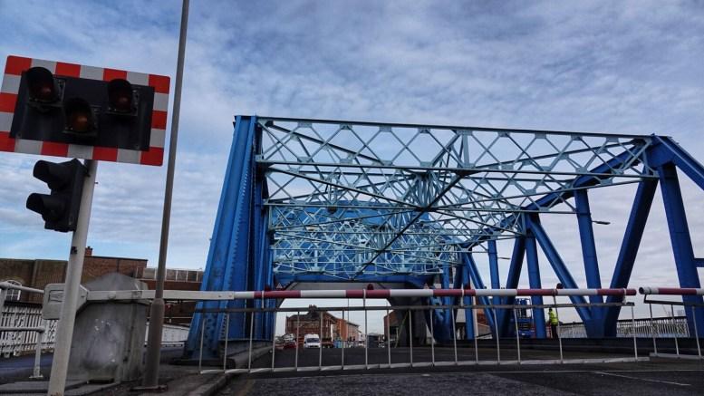 North Bridge in Hull.