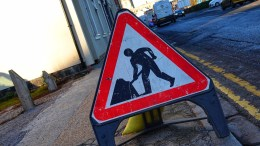 Roadworks will be taking place in Saltshouse Road