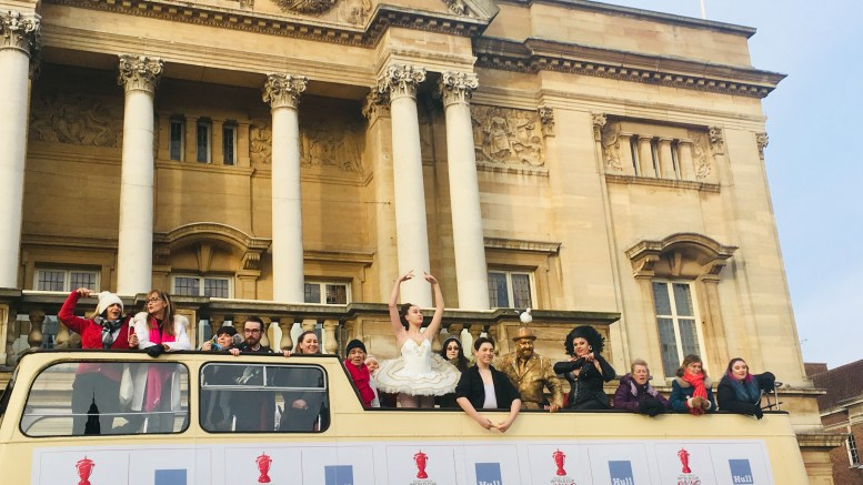 The RLWC2021 host city announcement by Hull City Council and Back to Ours.