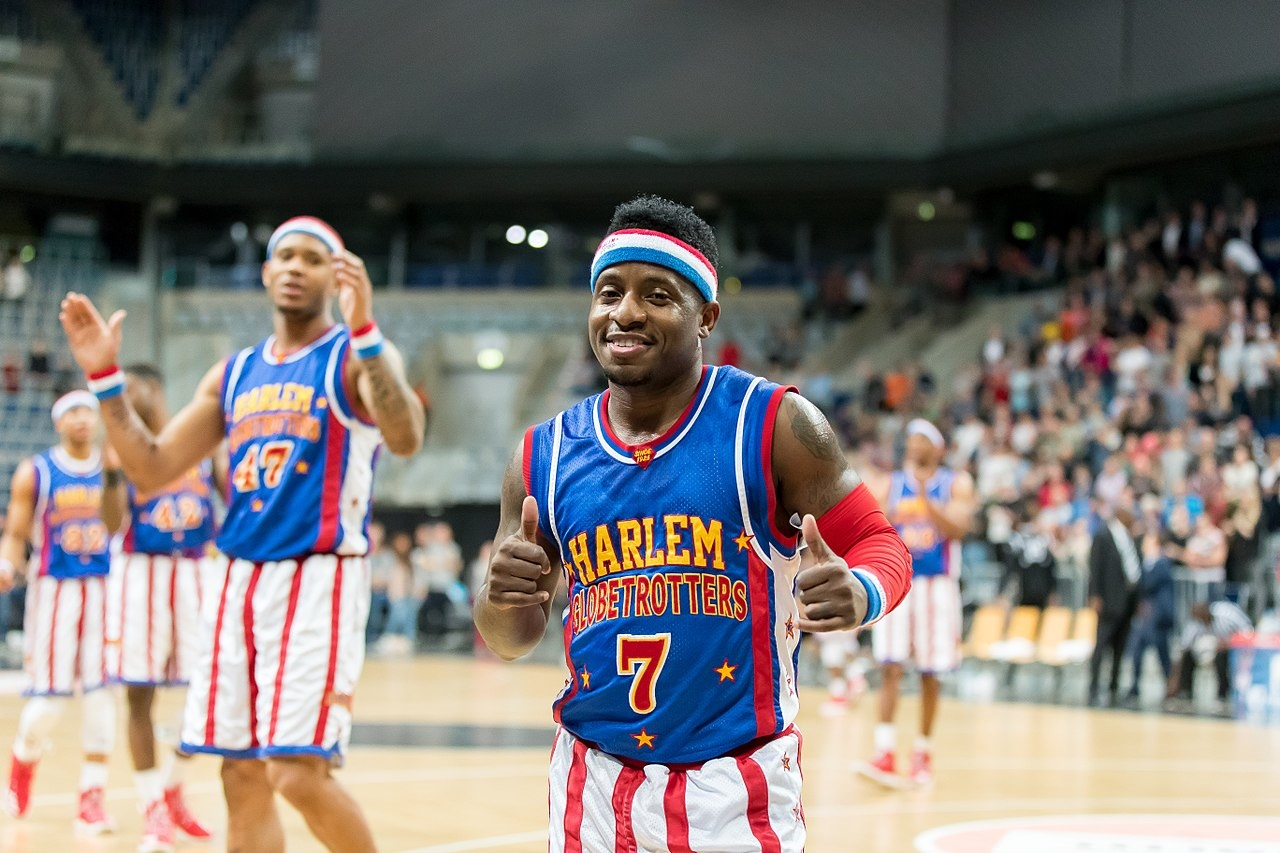 The Harlem Globetrotters are perhaps the world's most famous basketball team.
