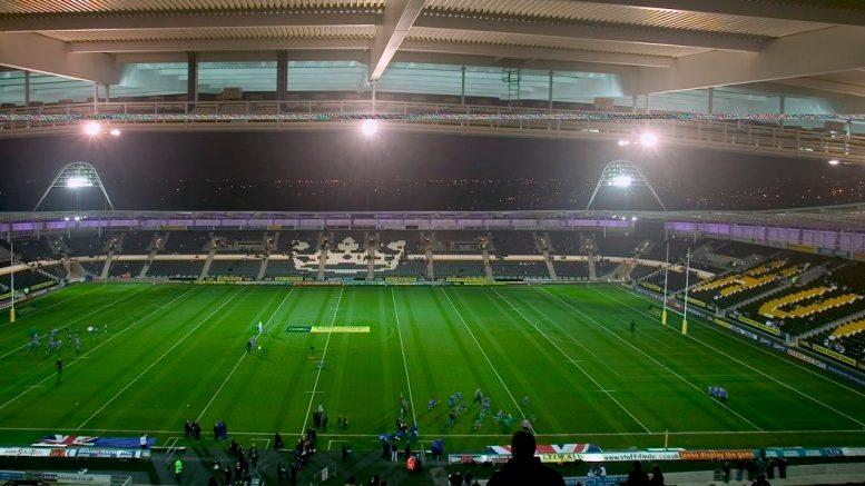 The KCOM Stadium in West Park, Hull.