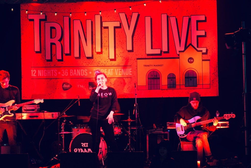 Rei Gyaamie, Trinity Live