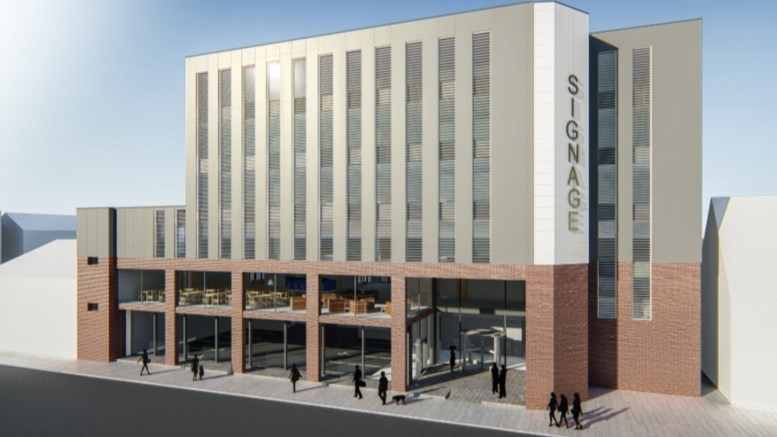 Plans have been submitted for a new six-storey hotel across the road from Paragon Station in Hull.