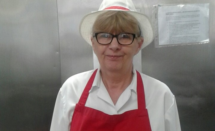 Russet Headland, senior cook at Newland St. John, is going to Buckingham Palace garden party on Wednesday 15 May.