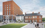 Plans for the new development include a nine-storey hotel with sky bar and roof terrace to the rear.