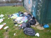 Waste found fly-tipped by Ruta Jezdovska in Gildane