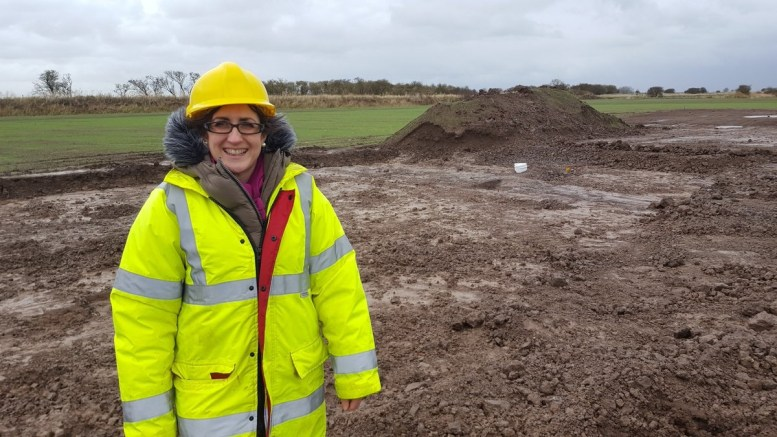 Lucie McCarthy, Hull City Council's principal archaeologist, says there is no reason for archaeology to slow the city's economic regeneration.