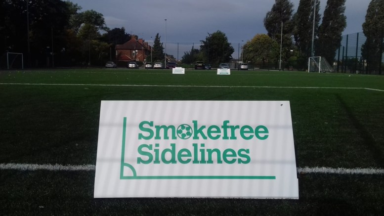 Smokefree Sidelines launched in Hull and the East Riding last year.
