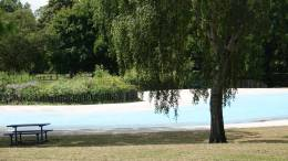 Pickering Park splash pool play area