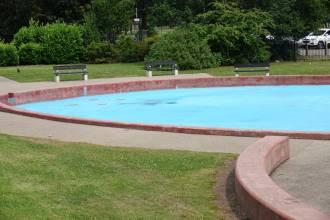 The West Park splash pool play area.