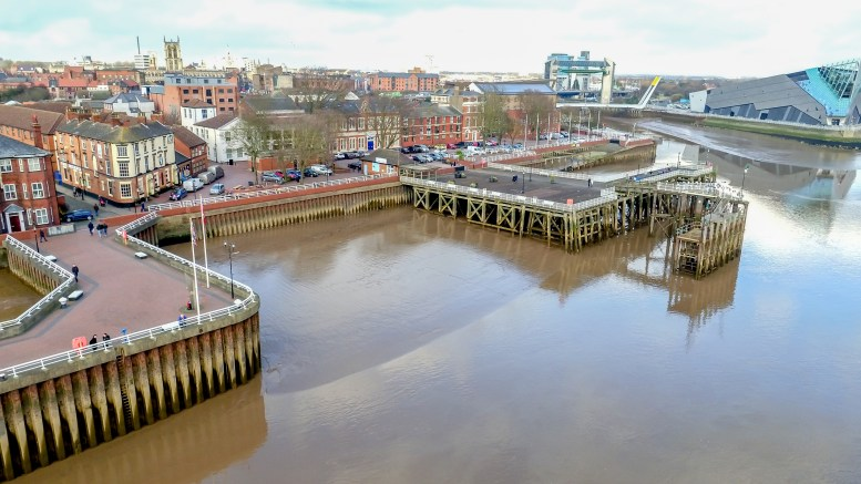 Victoria Pier in Hull.