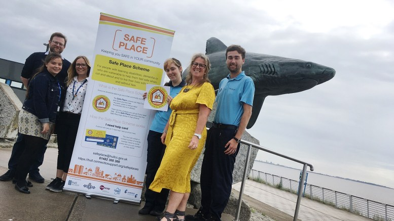The Safe Place team at The Deep