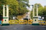 Pearson Park archway pillars