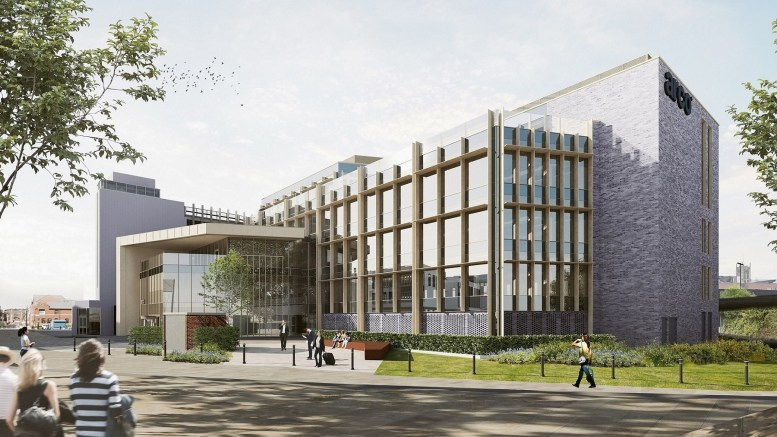 A CGI of the Arco head office