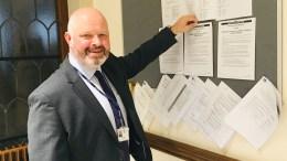 Matt Jukes publishes Notice of Election