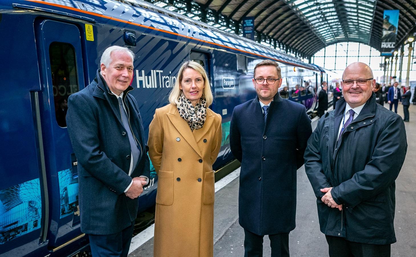 Hull Trains new fleet launch