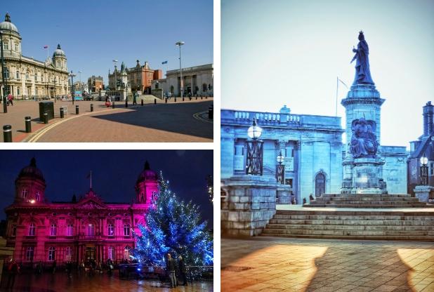 Queen Victoria Square refurbishment