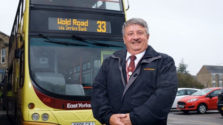 East Yorkshire Buses driver Paul Madeley. Picture: Neil Holmes Photography