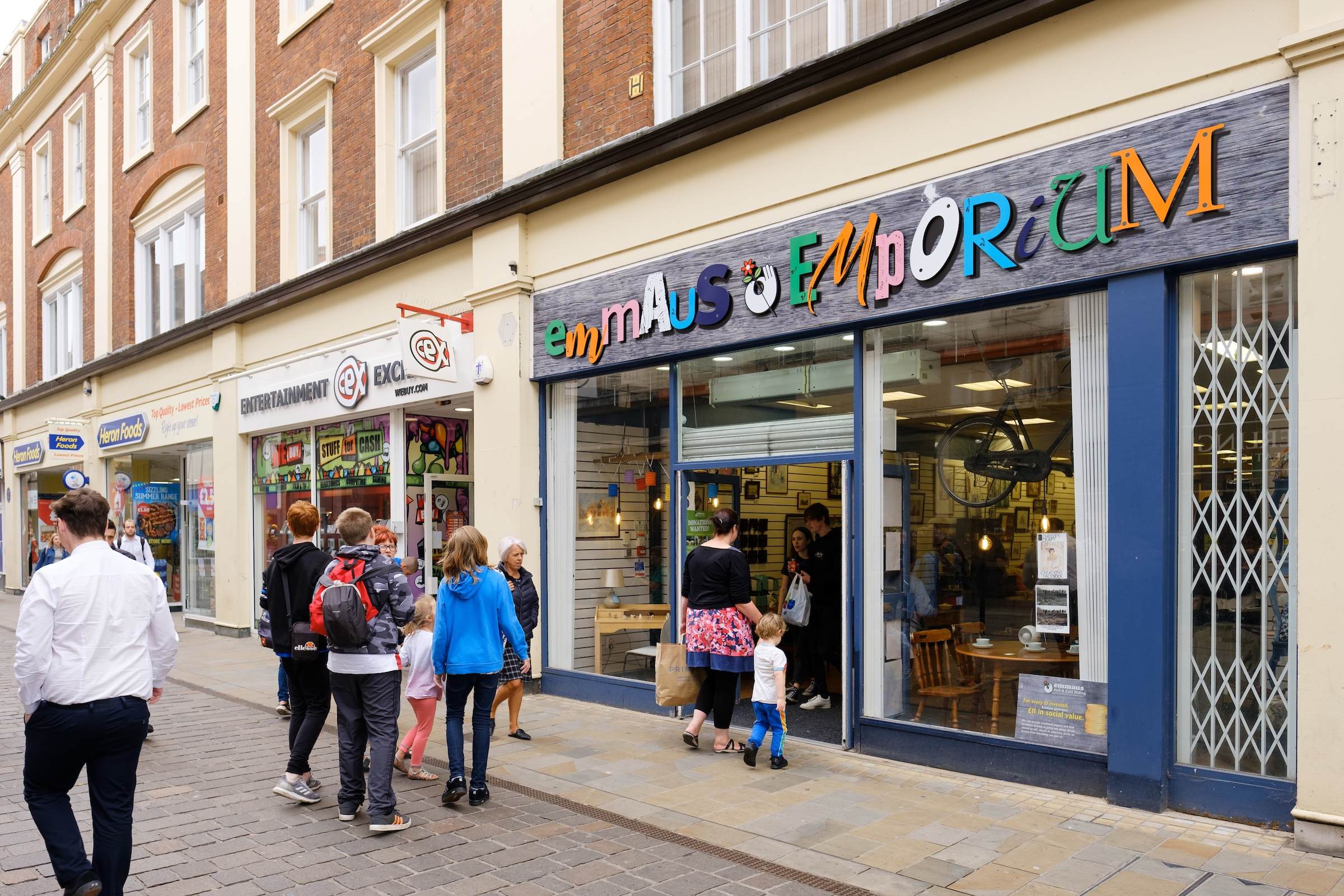 The Emmaus Emporium in Whitefriargate. Picture: Neil Holmes Photography