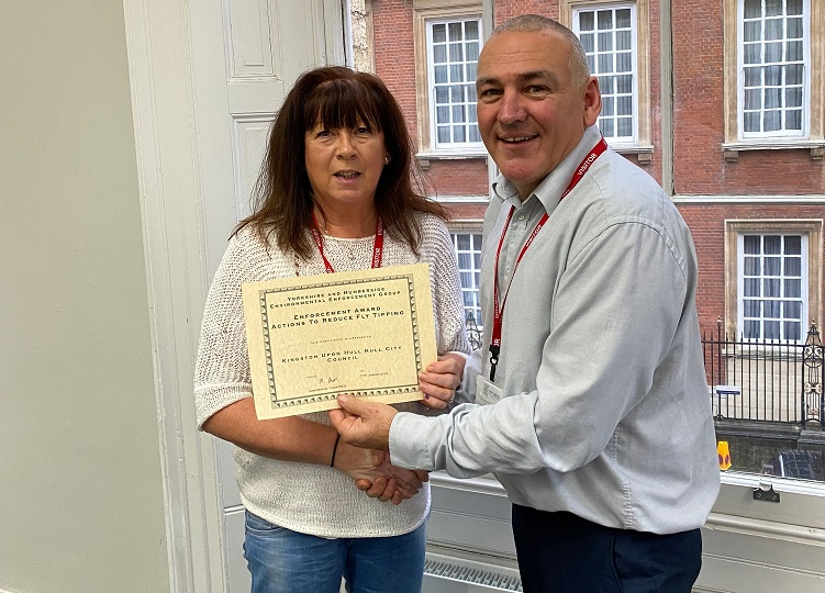 Hull enforcement award