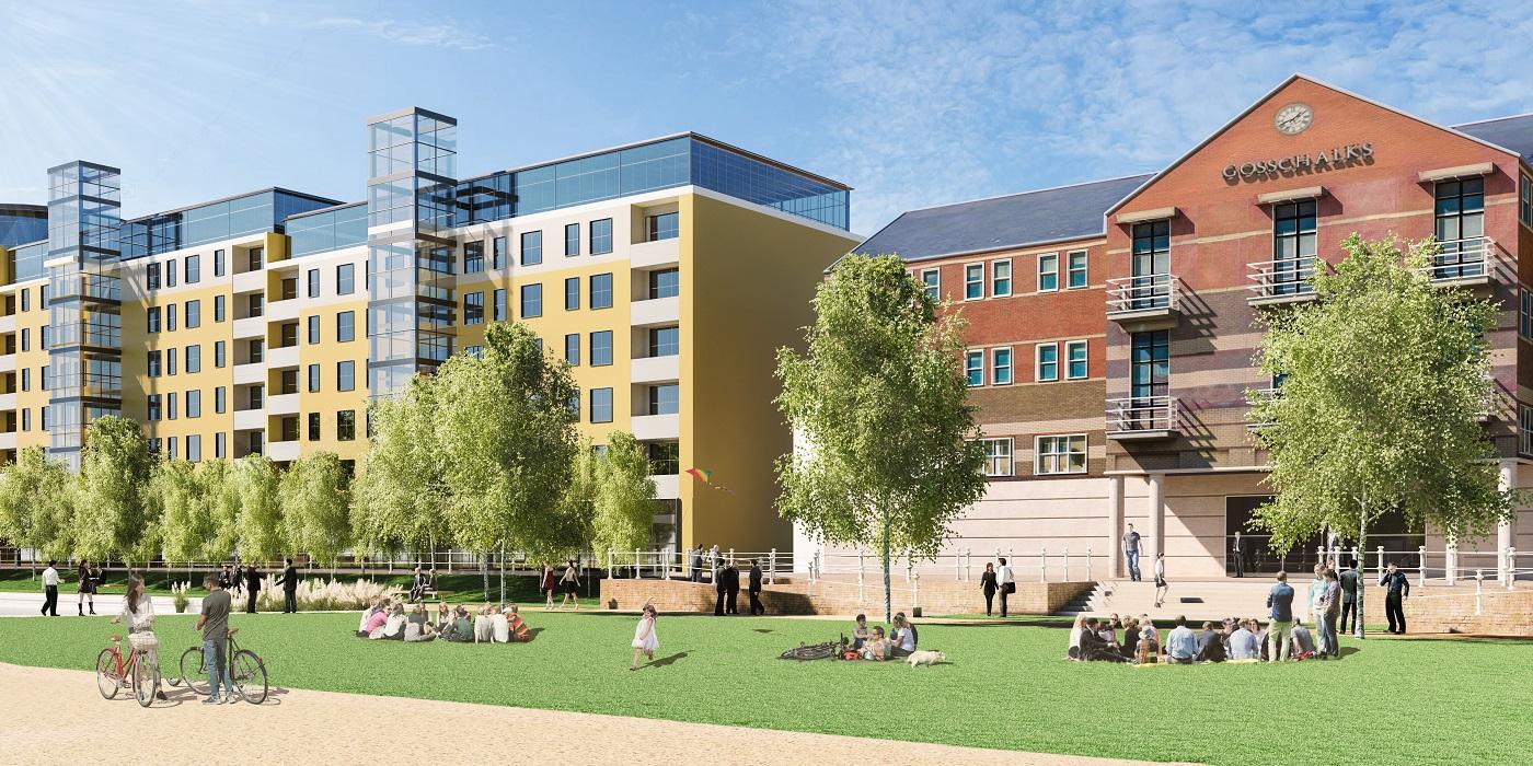Queens Gardens plans
