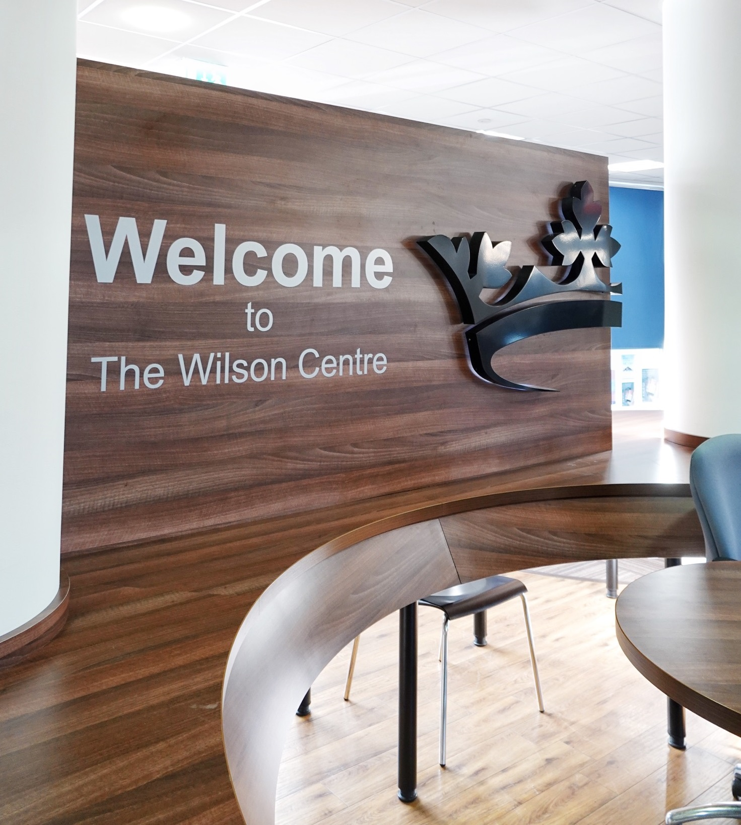 The Wilson Centre interior has been refurbished.