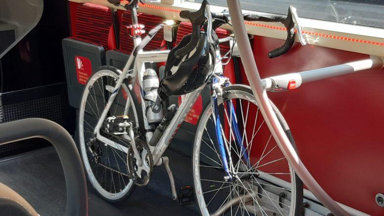 Bike on board bus