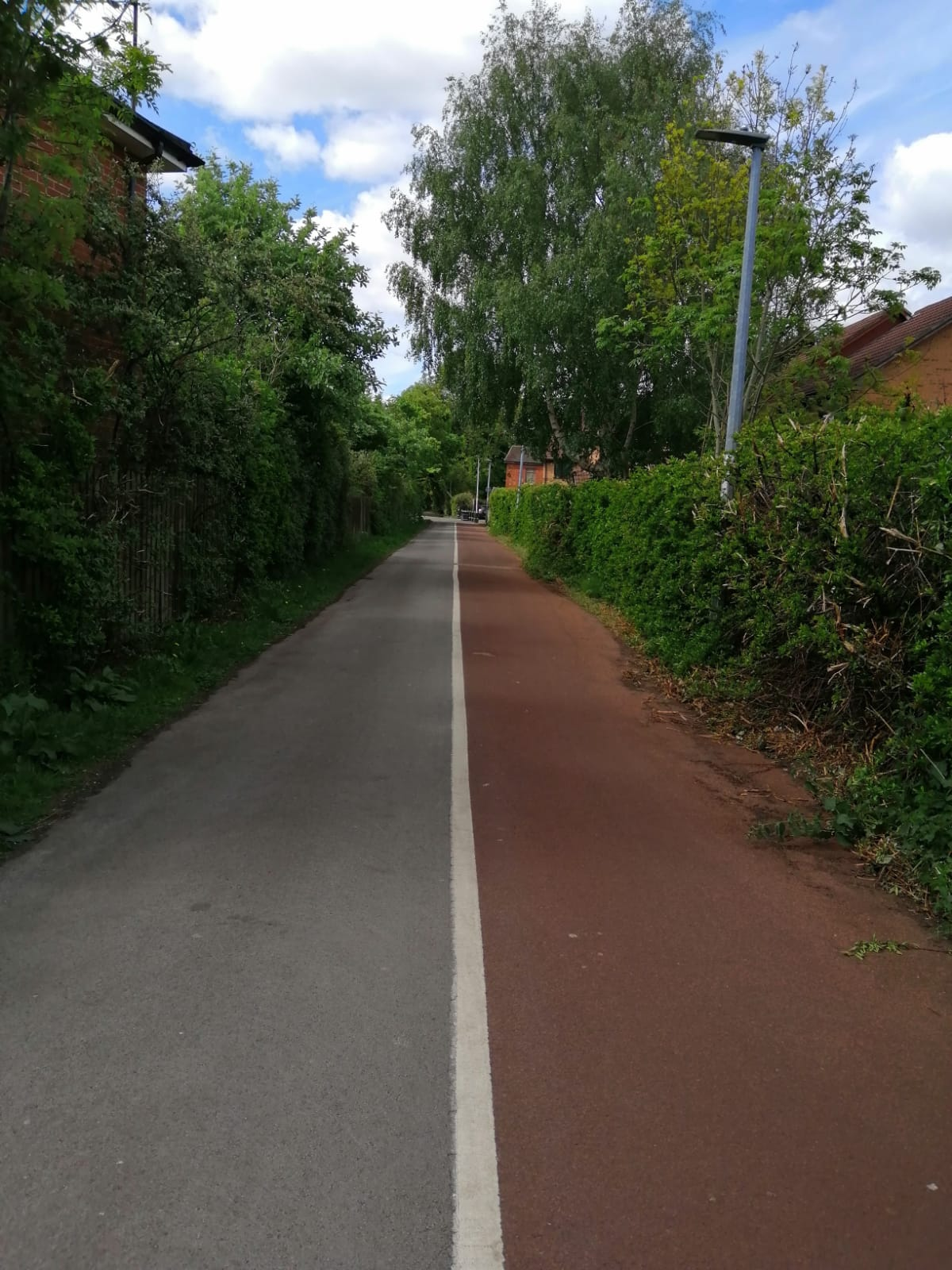 Off road cycle routes in Hull