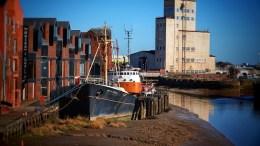 The Arctic Corsair, Hull's last remaining sidewinder trawler