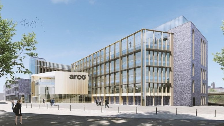 How the new Arco headquarters will look in the city's Fruit Market.