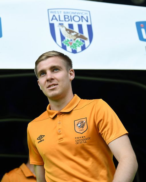 Daniel Batty of Hull City ahead of the Sky Bet Championship match at The Hawthorns