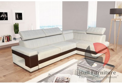 corner sofa bed with bedding storage sleep function elastic foam head rests bespoke made to measure corner sofa