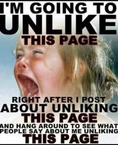 unlike facebook post