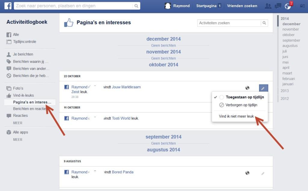 hulp met computer-facebook-activiteiten