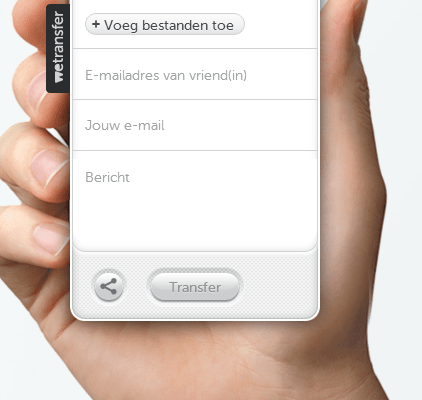 WeTransfer-upload