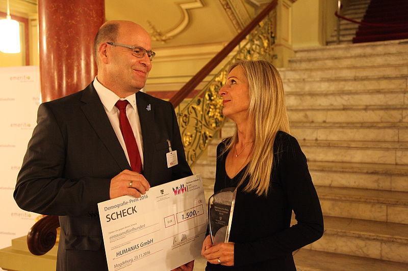 Gewinner des Demografie-Preis Sachsen-Anhalt 2016