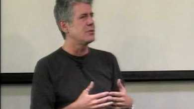 Photo of Anthony Bourdain 2007 | Talks at Google
