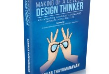 "Photo of Launch of the book – ""Making of a Level 5 Design Thinker""​"