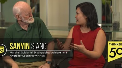 Photo of Sanyin Siang – Winner of the Thinkers50 Marshall Goldsmith Coaching Award