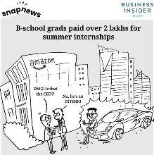 Photo of India's top b-school graduates are being paid over ₹2 lakh for summer internships