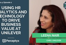Photo of Leena Nair on how HR drives business value at Unilever